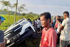 Mobil Mencurigakan Dikejar Polisi, Lalu Terperosok ke Parit, Saat Digeledah Isinya Sapi Curian