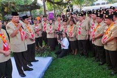 Presiden Lantik Adhyaksa Dault sebagai Ketua Kwarnas Gerakan Pramuka