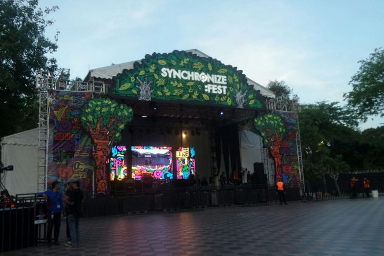 Forest Stage di Synchronize Fest 2017.