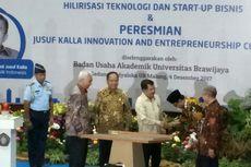 Resmikan Pusat Inovasi Wirausaha, Kalla Akan Ajak Mahasiswa Studi Banding
