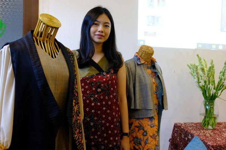 Patricia Andriani dan koleksi batik rancangannya
