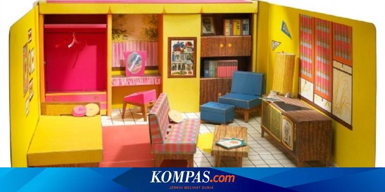 Ternyata Rumah Barbie Pertama Terbuat Dari Karton Halaman All Kompas Com
