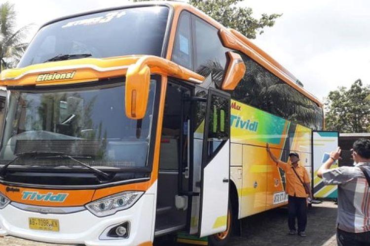 Salah satu armada bus milik PO Tividi