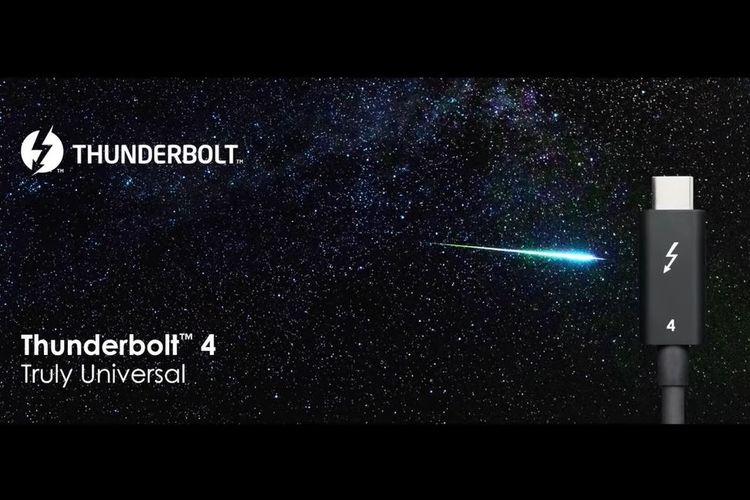 Ilustrasi Thunderbolt 4.