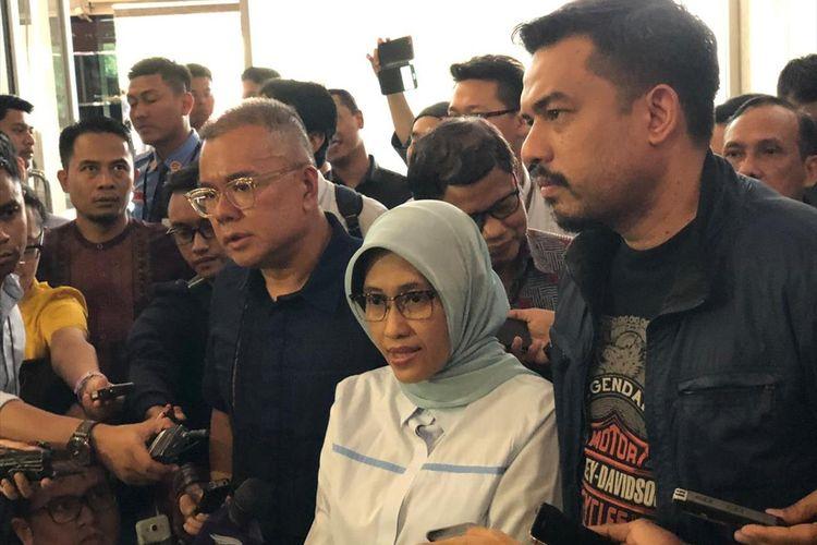 Plt Direktur Utama PT PLN (Persero) Sripeni Inten Cahyani di Jakarta, Selasa (6/8/2019).