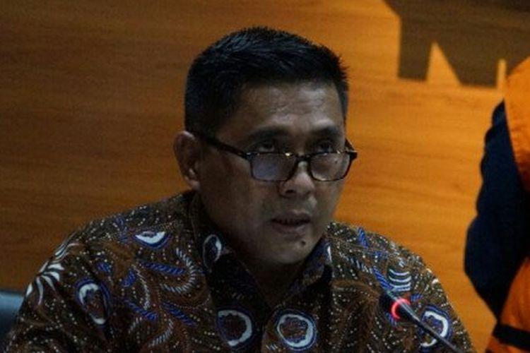 Deputi Penindakan KPK Karyoto saat jumpa pers di Gedung KPK, Jakarta, Jumat (23/10/2020) terkait penahanan Wali Kota Tasikmalaya Budi Budiman.