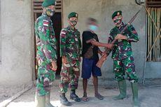 Warga Perbatasan Indonesia-Timor Leste Ramai-ramai Serahkan Senjata Api Rakitan ke TNI, Jumlahnya 10 Pucuk
