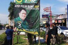 Masa Tenang, Alat Peraga Kampanye Masih Bertebaran di Bekasi