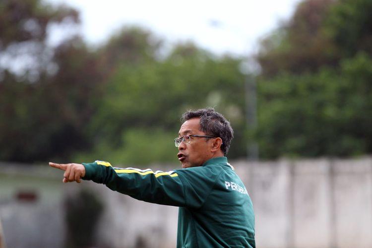 Aji Santoso, pelatih Persebaya Surabaya untuk musim 2020.