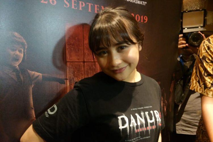Prilly Latuconsina saat ditemui di XXI Blok M Square, Jakarta Selatan, Kamis (3/10/2019).