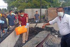 Rumah dari Papan Kayu Terbakar, Ibu dan Balita Tewas Terjebak Api