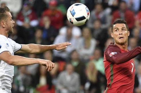 Balas Komentar, Bek Islandia Bandingkan Ronaldo dengan Messi