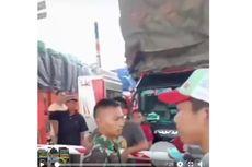 Viral Prajurit TNI Larang Truk Kelebihan Muatan Lintasi Tol Trans Sumatera, Ini Penjelasan Hutama Karya