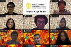Gagas Limbah Metal Jadi Bahan Bangunan, Mahasiswa UI Juara 3 Dunia Metal Cup 2020