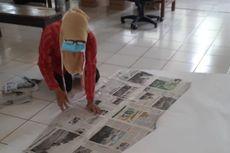 Pasien Rehabilitasi Jiwa di Semarang Jalani Terapi dengan Jahit Masker dan APD