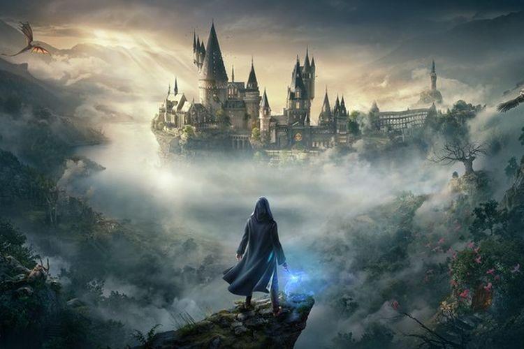 Ilustrasi game Hogwarts Legacy.