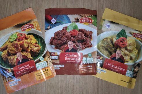 William Wongso Luncurkan Makanan Indonesia Siap Santap dalam Kemasan