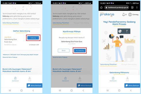 Ditutup Hari Ini, Begini Cara Daftar Kartu Prakerja Gelombang 22 di www.prakerja.go.id