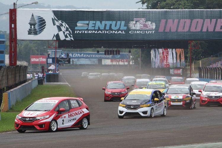 One Make Race (OMR) Honda Jazz Speed Challenge Seri 1 2017