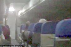 Penumpang Mencium Bau Terbakar, Kepanikan Terjadi di Pesawat Superjet