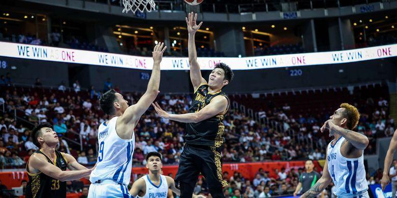 Lay Up Shoot Dalam Permainan Basket