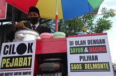 Momen Sandiaga Uno Video Call dengan Penjual Cilok Berjas: Halo Bapak Pejabat!