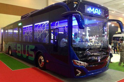 """Bus Listrik Merek """"Anak Bangsa"""", Realisasi Pemikiran Presiden Jokowi"""