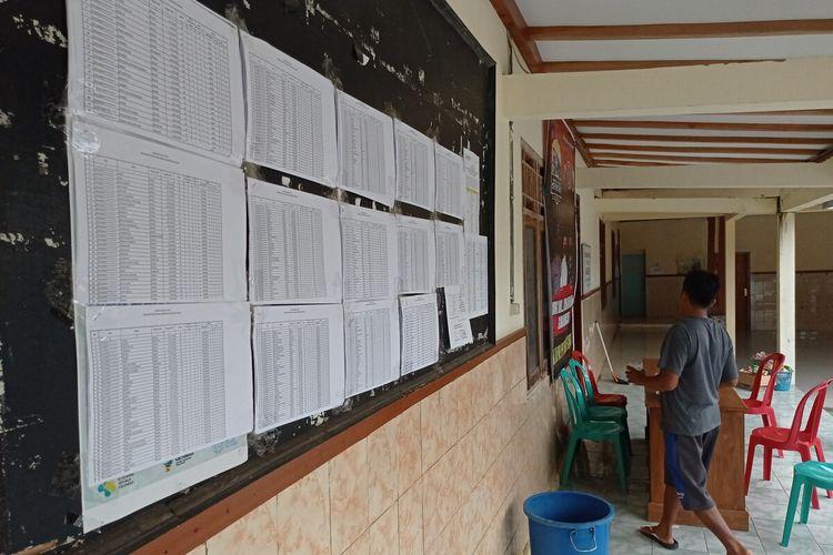 Daftar Pemilih Tetap pemilihan kepala desa di Desa Sidorejo, Kecamatan Kendal, Ngawi. Pilkades akan dilaksanakan tanggal 23 Desember 2020.