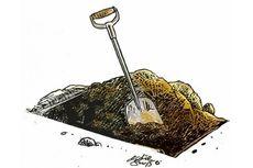 Makam Pasien Covid-19 Dibongkar, Jenazah Raib, Hanya Sisakan Peti Mati