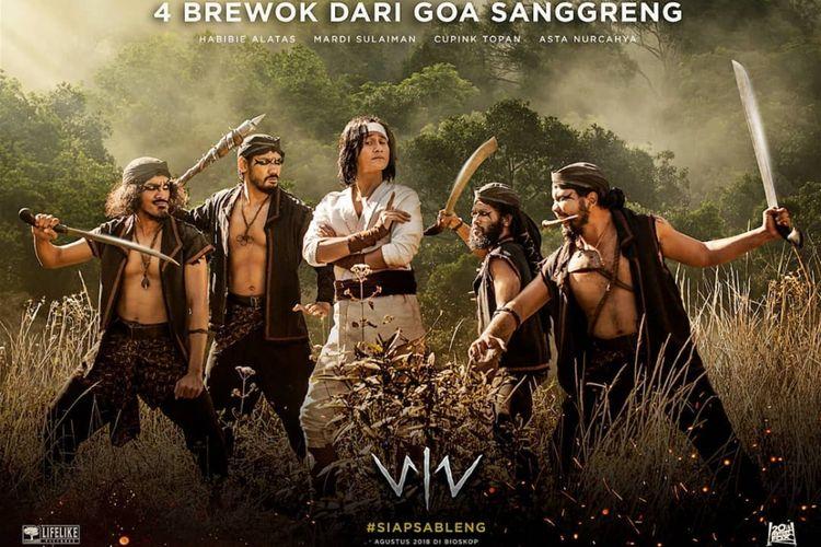 Para bandit yang dijuluki Empat Brewok dalam film Wiro Sableng. Mereka terdiri dari Bergola Wungu (diperankan oleh Asta Nurcahya), Seta Inging (Cupink Topan), Pitala Kuning (Mardi), dan Ketut Ireng (Habibie).
