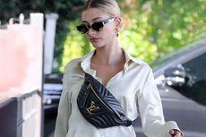 Intip Side Bag Louis Vuitton Seharga Rp 25 Juta Milik Hailey Bieber