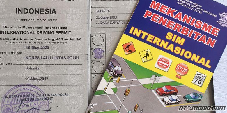 Proses pembuatan SIM Internasional