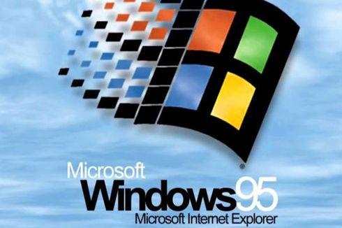 Hari Ini 25 Tahun Lalu Windows 95 Meluncur, Ini Kecanggihannya Kala Itu