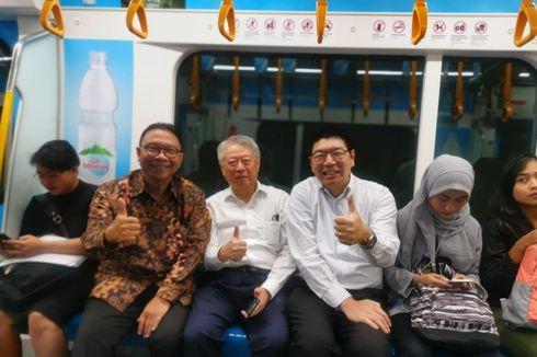 Peradaban Baru Itu Nyata, CEO hingga Anak Sekolah Naik MRT Jakarta