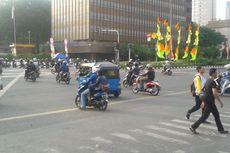 Jalan Sudirman-Thamrin Sudah Dibuka Lagi