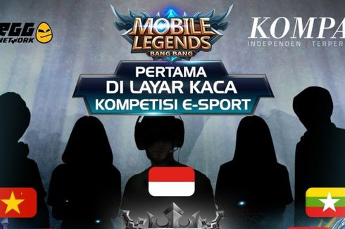 Kompas TV Siarkan Langsung Kompetisi eSports Mobile Legends