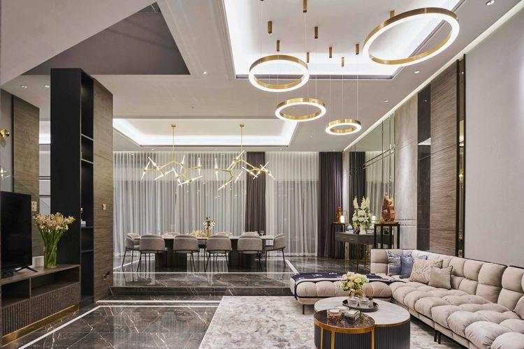 Desain penataan lighting yang unik karya Studio Kuskus