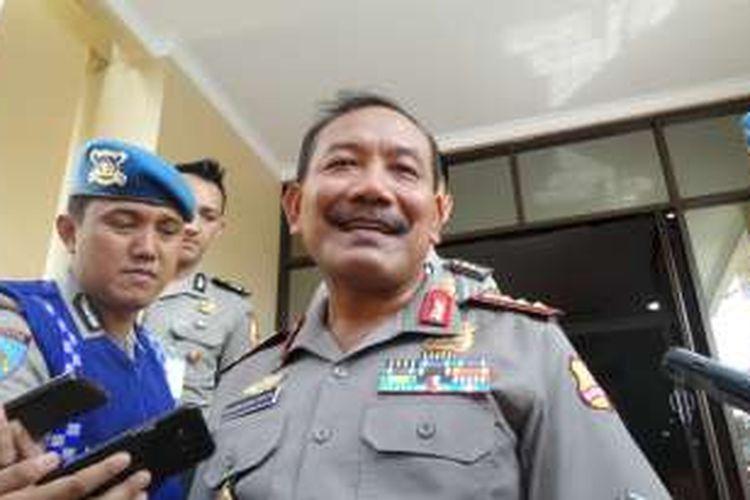 Kepala Polri Jenderal Badrodin Haiti
