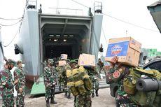 Tiga Kapal TNI AD Angkut Bantuan ke Kalsel dan Sulbar, Ini Rinciannya