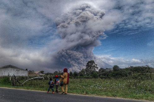 Pemerintah Kebut Pembangunan Rumah bagi Pengungsi Gunung Sinabung