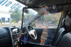 Terapkan Jaga Jarak, Mobil Buat Uji Praktik SIM di Satpas Daan Mogot Diberi Sekat