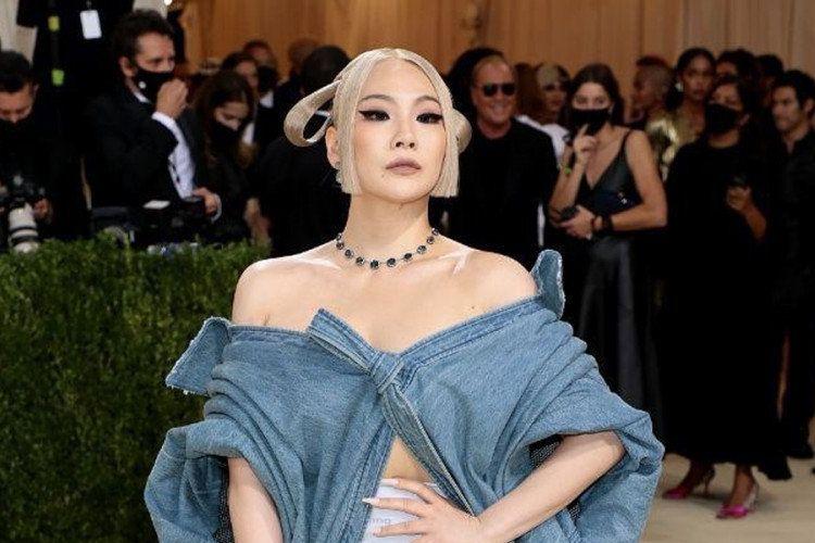 CL saat menghadiri Met Gala 2021
