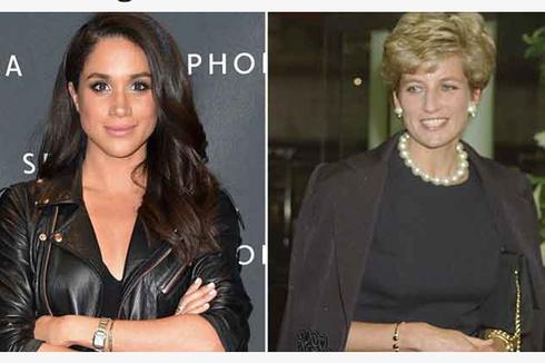 Makna di Balik Eyeliner Tebal Meghan Markle dan Putri Diana