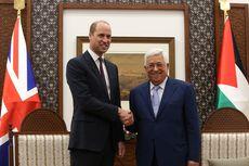 Bertemu Presiden Abbas, Pangeran William Sebut Palestina sebagai