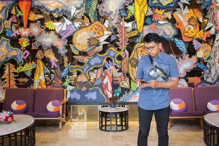 Lobby di Fox Harris City Center, Bandung
