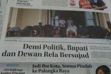 Bupati dan Pimpinan DPRD Sujud Minta Putra Daerah di Pilkada Lamandau