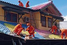 Pengecatan 168 Genteng Rumah di Lenteng Agung Libatkan Dewan Kesenian Jakarta