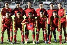 Susunan Pemain dan Link Live Streaming Timnas U-16 Indonesia Vs Brunei