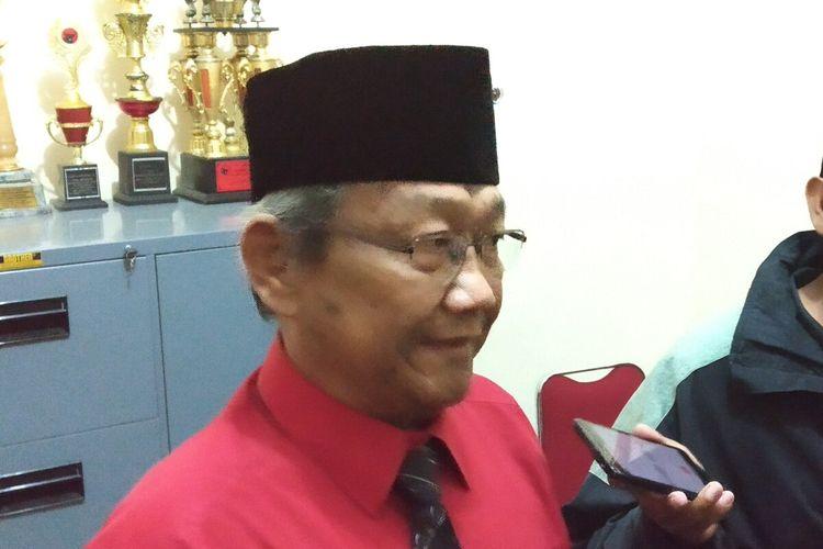 Wakil Ketua DPC PDI-P Kota Solo Bidang Pemenangan Pemilu dan Komunikasi Politik Putut Gunawan.