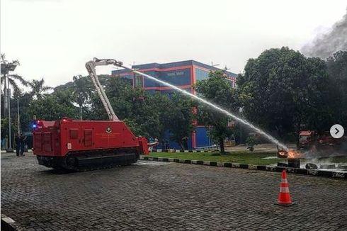 Keunggulan Robot Pemadam Kebakaran Milik DKI, Tahan Api hingga Dorong Beban 10 Ton